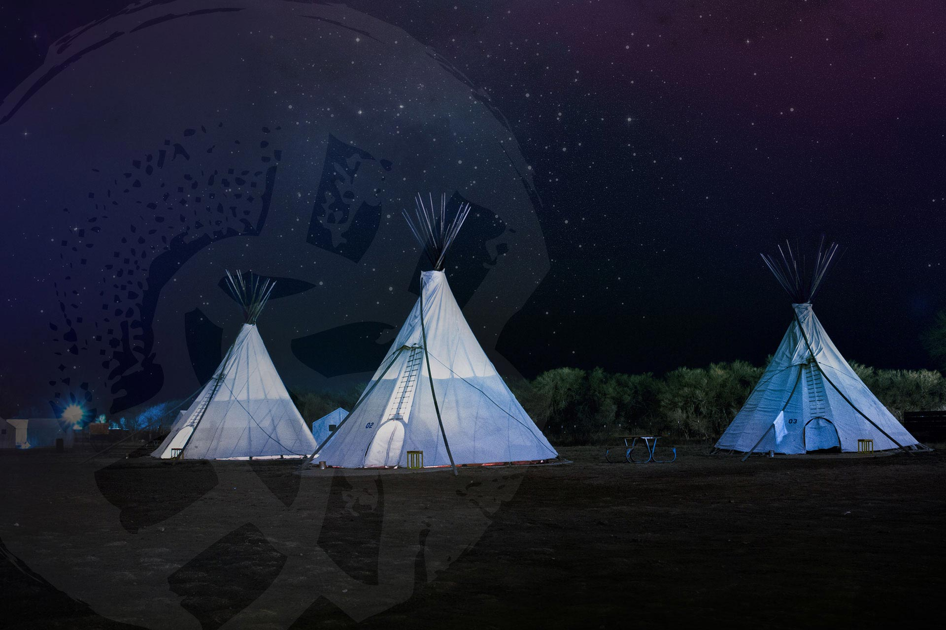 Outdoor Therapy Tipi